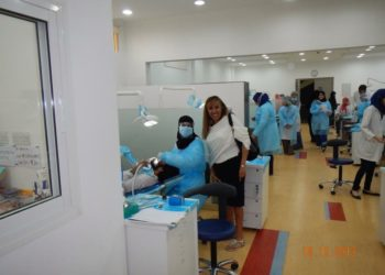 Visita a la Universidad de Odontologia en Dubái